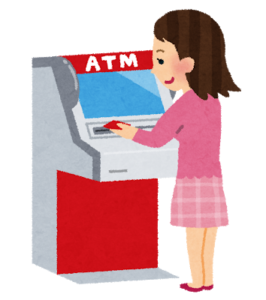 ファミリーマートのatmでりそな銀行口座への【預け入れ】は可能なの?