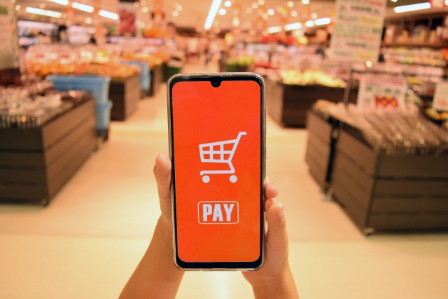 マックスバリュでは【quicpay】での支払できるの?チャージは可能?