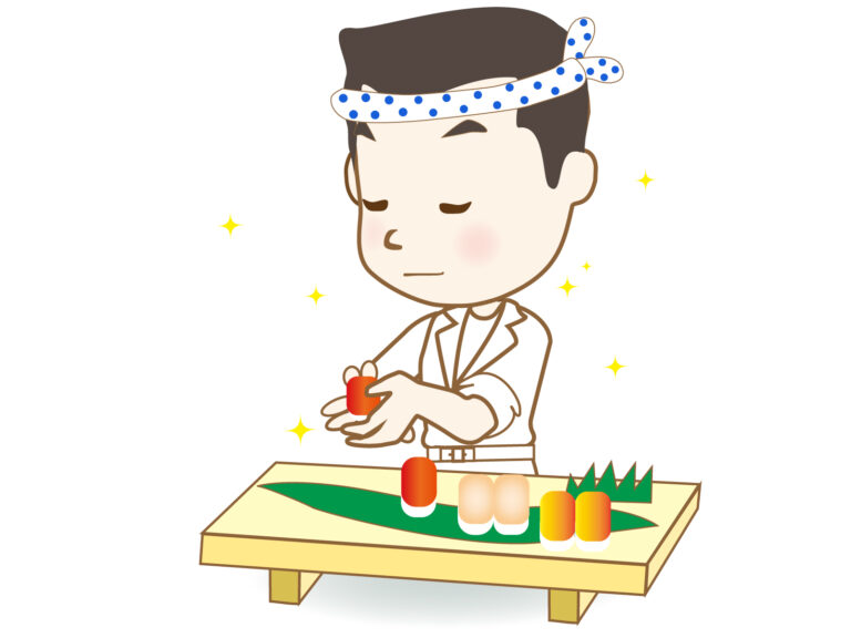 がってん寿司のキャラクターの名前は何?サッカー選手がモデルって?
